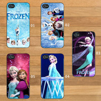 Disney Frozen - Print on Hardplastic for iPhone 4/4s and 5 case, Samsung Galaxy S3/S4 case.