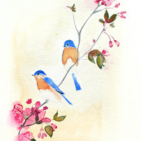 Birds and Blossoms Limited Edition 3/200 8 x 10 by MaiAutumn