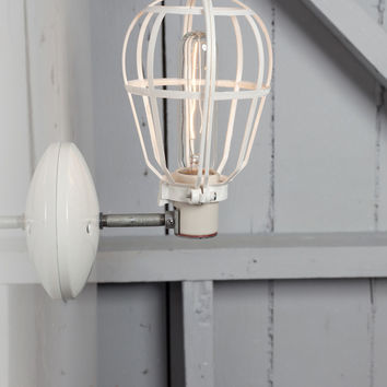 Cage Light - Industrial Wall Mount Sconce
