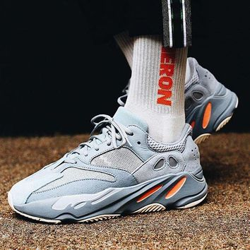 Adidas Yeezy 700 Runner Boost Trending Women Men Sport Running Shoes Sneakers Grey