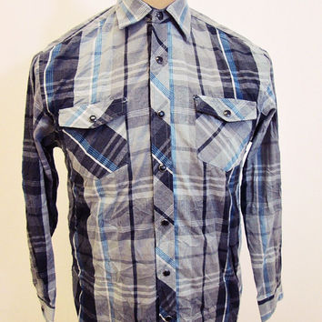 Retro Airwalk Western Shirt Youth L / Mens XS
