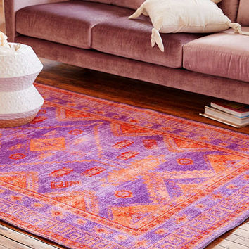 Claudia Printed Rug | Urban Outfitters