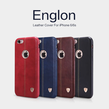 Nillkin Englon Series Case for iPhone 6 6s Vintage PU Leather Case for iPhone 6s plus 6plus