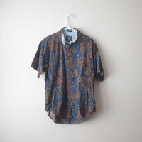 Vintage Baroque Paisley Ralph Lauren Button Up Shirt