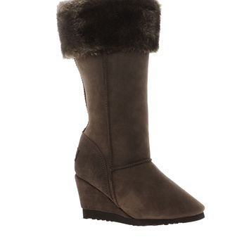 Love From Australia Tall Foxy Wedge Boots -