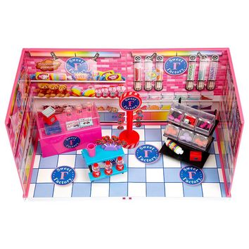 miWorld Sweet Factory Candy Store Set