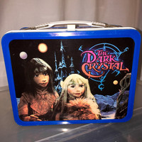 1982 Jim Henson the Dark Crystal metal lunch box lunchbox cartoon tv show RAD