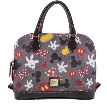 Disney Parks Mickey & Minnie Mania Dooney & Bourke Satchel Bag New with Tag