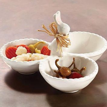 Bunny Rabbit Relish and Candy Dish
