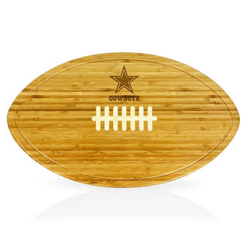 Dallas Cowboys - Kickoff Football Cutting Board & Serving Tray