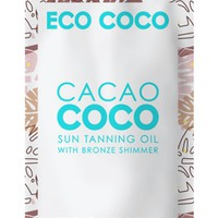 Ecococo - Cacao Sun Tanning and Bronzing Oil Produced By SHOWPO