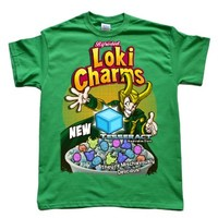Stooble Men's Bifrosted Loki Charms T-Shirt