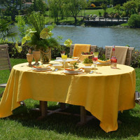 Miami Tablecloth - Washable - Coated for Easy Care