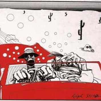 Ralph Steadman Fear and Loathing Art Poster 23x35
