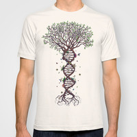 The Fabric of Life T-shirt by René Campbell