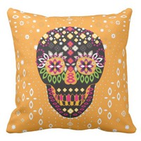 Sweet Sugar Skull - Pillow
