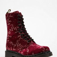 Dr. Martens Avery Velvet 10-Eye Boot