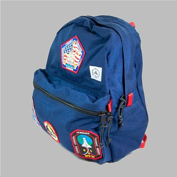 Day Pack w/ Vintage NASA Patches, Midnight