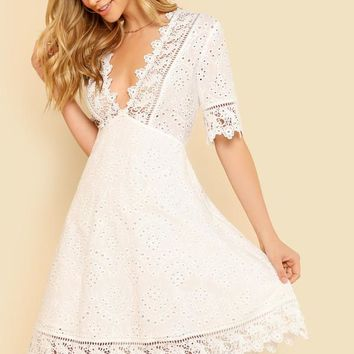 Danty Flow Fit and Flare Dress