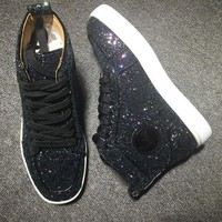 DCCK Cl Christian Louboutin Style #2281 Sneakers Fashion Shoes
