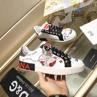 Dolce& Gabbana Women Fashion Casual Sports Shoes
