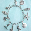 beach themed charm bracelet