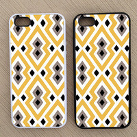 Cute Geometric Pattern iPhone Case, iPhone 5 Case, iPhone 4S Case, iPhone 4 Case - SKU: 136