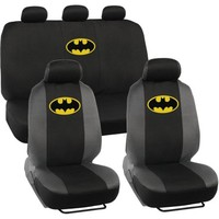 Batman Original Seat Covers for Car and SUV, Auto Interior Gift Full Set, Warner Brothers - Walmart.com