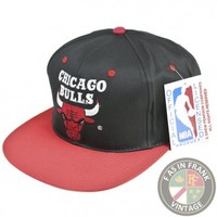 Chicago Bulls Snapback Hat | F as in Frank Vintage Clothing