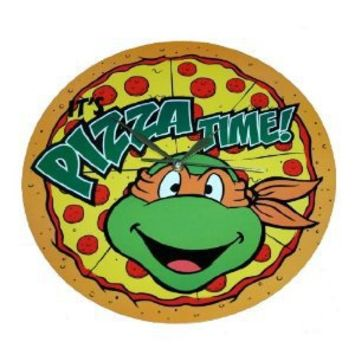 Teenage Mutant Ninja Turtles Pizza Time Clock