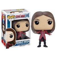 Captain America Civil War Scarlet Witch Pop Vinyl Figure