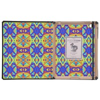 Bright Colors Fun Pattern iPad Folio Cases