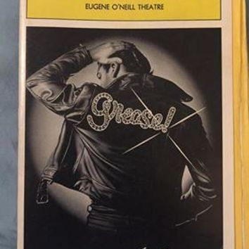 Grease Live On Stage Playbill