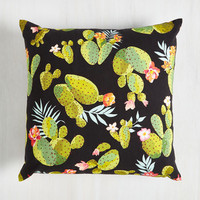 Rustic Cacti Affair Pillow by ModCloth