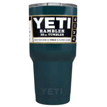 Promotional YETI 30 oz Blue Sea Custom Tumbler