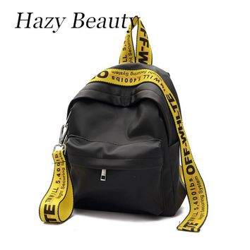 Hazy beauty New nylon women fashion backpack super chic lady shoulder bags good quality stylsih girls school bags hot sell DH662