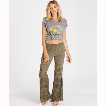 JOURNEY ON WIDE LEG PANTS