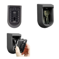Push Pin Combination Spare Key Safe
