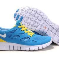 """Nike Free Run +2.0"" Unisex Sport Casual Barefoot Sneakers Couple Running Shoes"