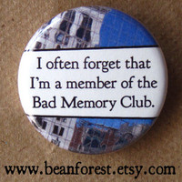 bad memory club by beanforest on Etsy