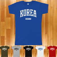 KOREA Women's T-shirt - South Korean Seoul Busan Incheon Daegu ROK - S-2XL
