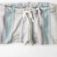 AEO Women's Striped Fleece Shortie