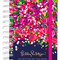 Lilly Pulitzer Pocket 17 Month Agenda- Wild Confetti
