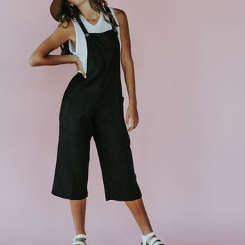 Sully Overalls (Black)