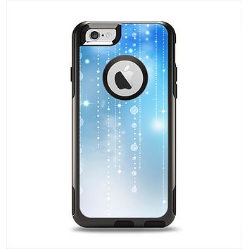 The Translucent Blue & White Jewels Apple iPhone 6 Otterbox Commuter Case Skin Set