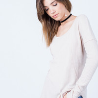 Laid-Back Sweater Top