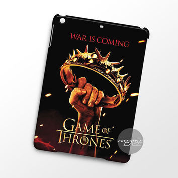 Crown Game Of Thrones War Is Coming  iPad Case Case Cover Series