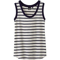 WOMEN DIP SUNO STRIPED TANK TOP
