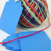 """Small Basic Blank Tags -- 1.5"""" x 2.25"""" -- Available in Any Color and Any Size -- Homemade Paper Goods -- Custom Orders Welcomed"""