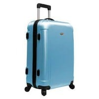 "Traveler's Choice 25"" Freedom Hardsided Lightweight Spinner - Sky Blue"